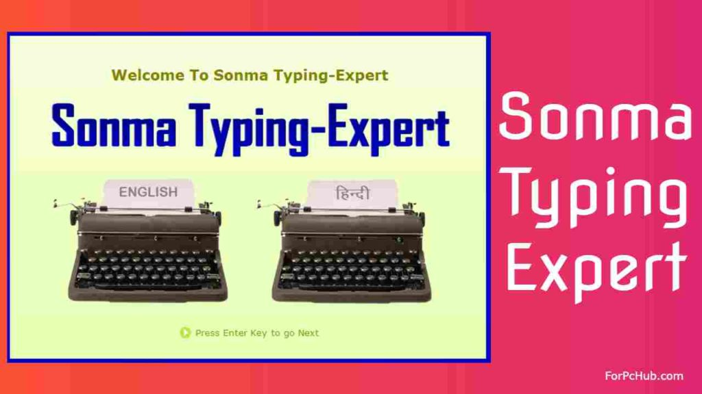 Sonma Hindi typing software for pc