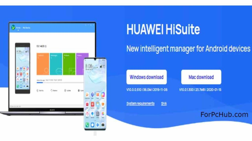 Huawei Hisuite for PC